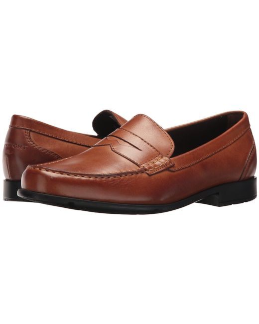 Rockport - Brown Barnaby Lane Penny for Men - Lyst