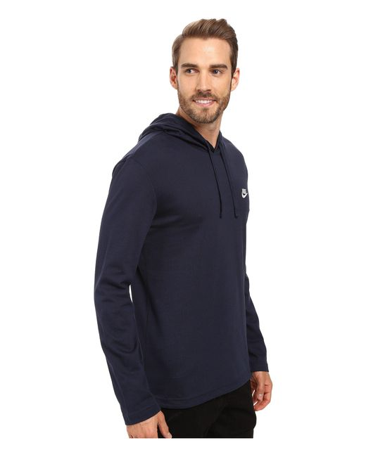 da68d2304 ... Nike - Blue Club Jersey Pullover Hoodie for Men - Lyst ...