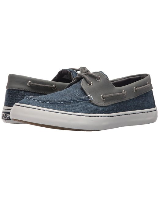 Sperry Top-Sider - Blue Cutter 2-eye Chambray for Men - Lyst