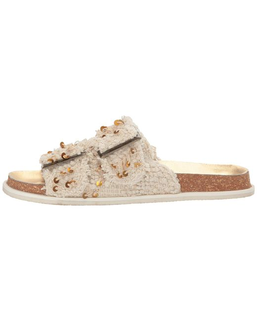 cdde57fce Lyst - Free People Bali Footbed in Natural - Save 65.38461538461539%