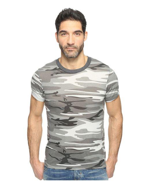 Alternative Apparel | Gray Eco Crew T-shirt for Men | Lyst