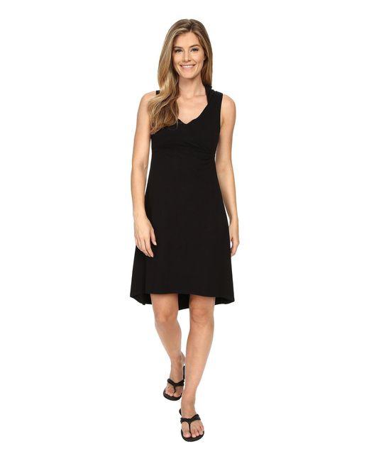 Prana - Black Alana Dress - Lyst