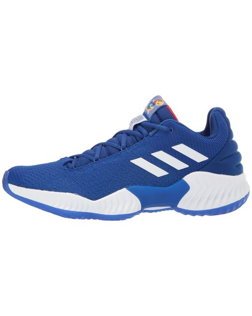 a5c969ff9e6f2 ... Adidas - Blue Pro Bounce Low for Men - Lyst ...
