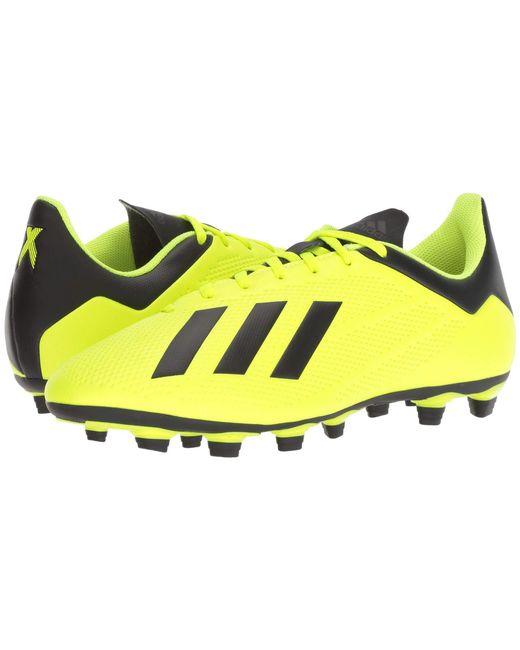 the best attitude 00a90 af40b Adidas - Yellow X 18.4 Fg for Men - Lyst ...
