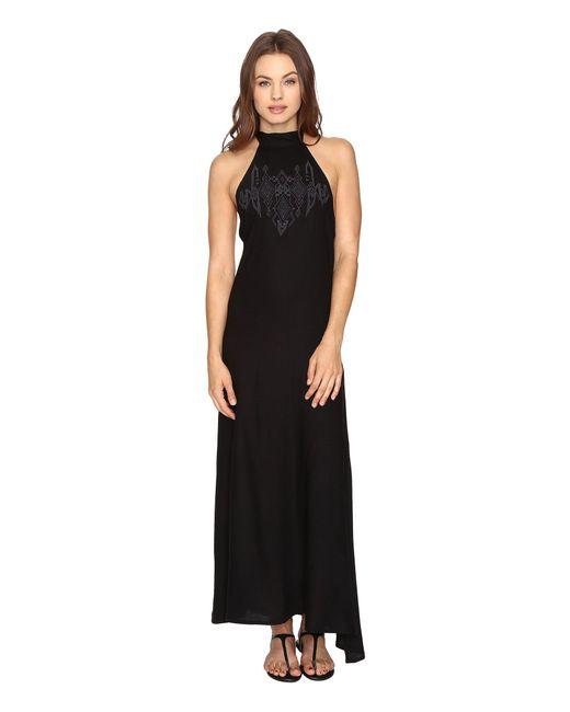 Billabong - Black Wandering Moon Dress - Lyst