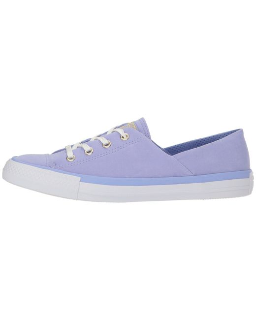 7b9579a27e0 Lyst - Converse Chuck Taylor® All Star® Coral Ox in Blue - Save 40%