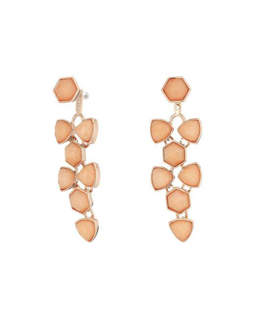 Vera Bradley - Metallic Geo Facets Convertible Earrings - Lyst