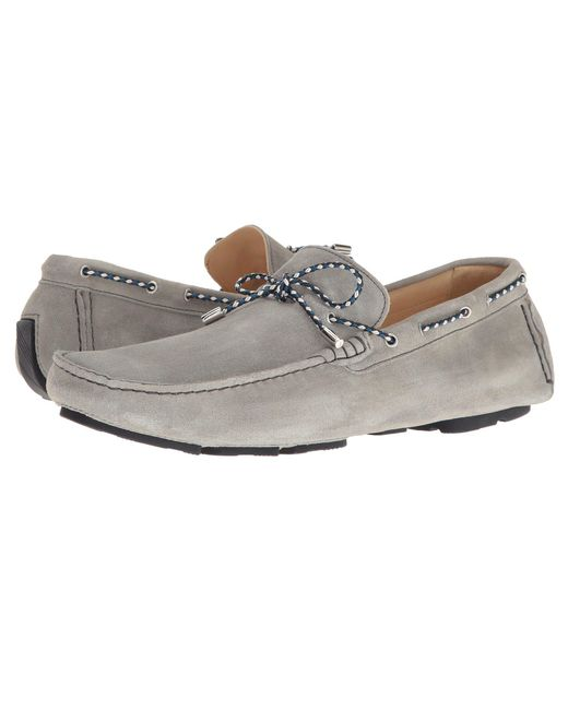 Bugatchi - Gray Monte Carlo Moccasin for Men - Lyst