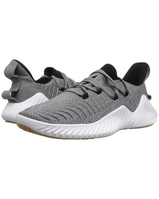 e16b13ad2 Adidas - Gray Alphabounce Trainer for Men - Lyst ...
