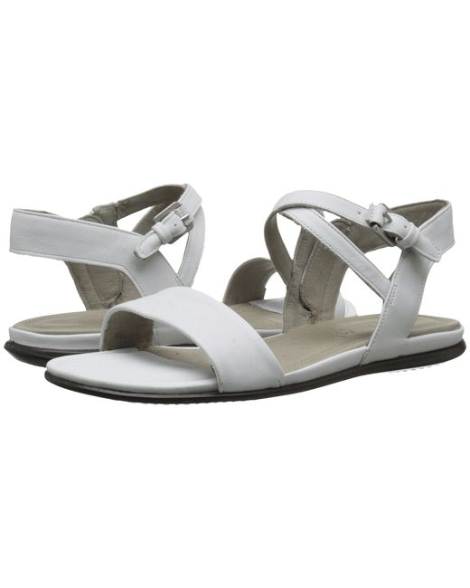 Ecco - White Touch Ankle Sandal - Lyst