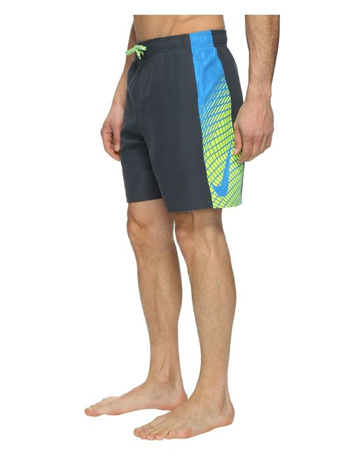 "Nike - Blue Clash 7"" Volley Shorts for Men - Lyst"
