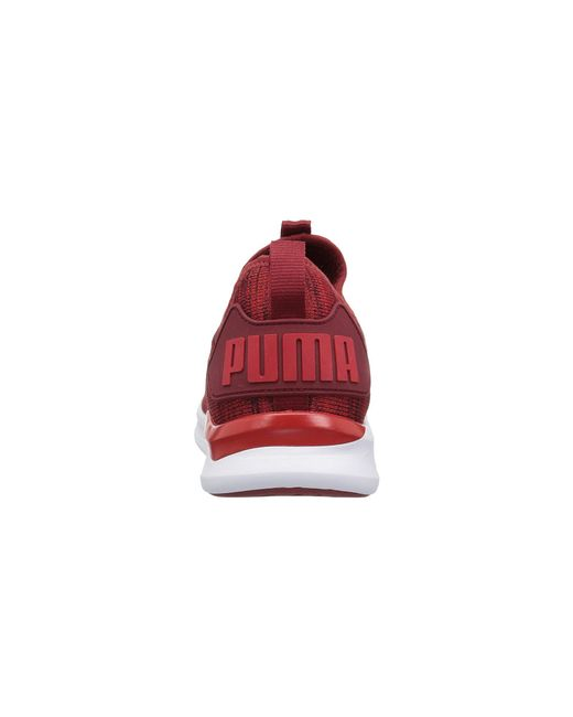 Lyst - PUMA Ignite Flash Evoknit Sneaker in Red for Men - Save 45% 3b8eaaab8