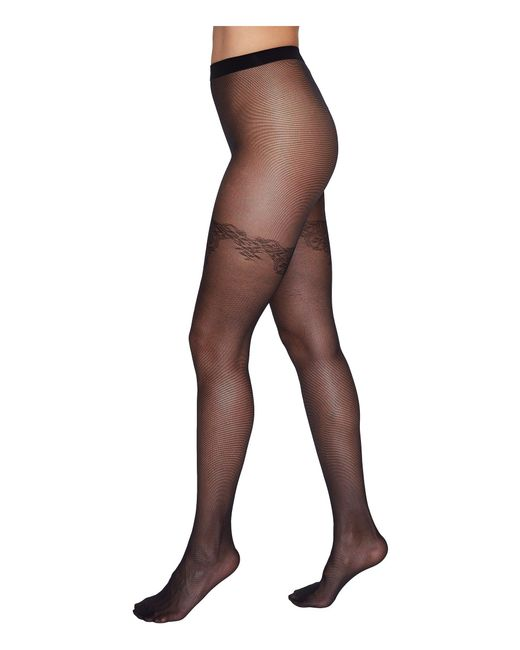 Wolford | Black Susanna Tights | Lyst