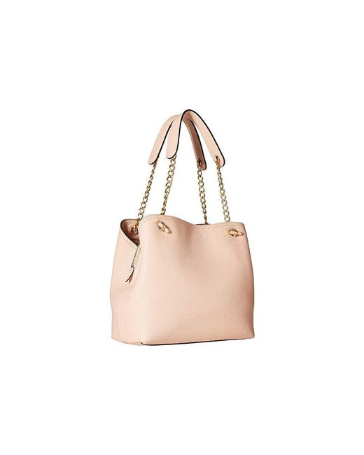 8174009fcc ... Tory Burch - Pink Chelsea Small Slouchy Tote (pale Apricot) Tote  Handbags - Lyst ...