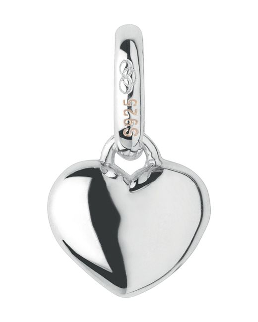 Links of London | Metallic Mini Slim Heart Charm | Lyst