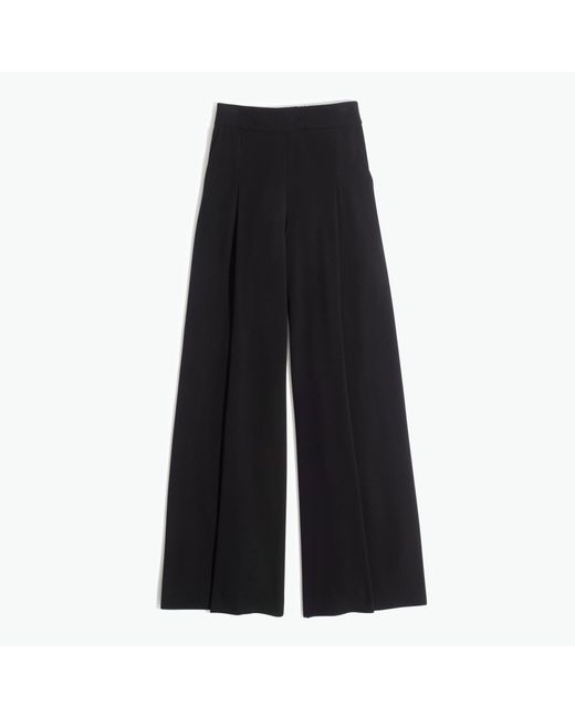 Madewell | Black Caldwell Pull-on Trousers | Lyst
