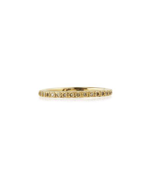 Armenta | Metallic Sueno 18k Gold Diamond Eternity Band Ring | Lyst