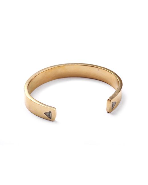 Lulu Frost | Metallic George Frost G. Frost Unite Cuff - Brass for Men | Lyst