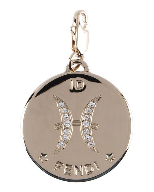 Fendi | Metallic Pendant | Lyst
