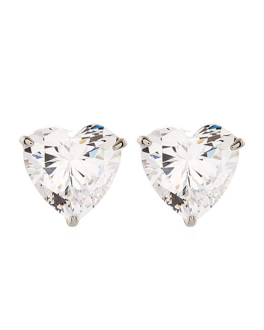 Carat* | Metallic Hearts For You Stud Earrings | Lyst