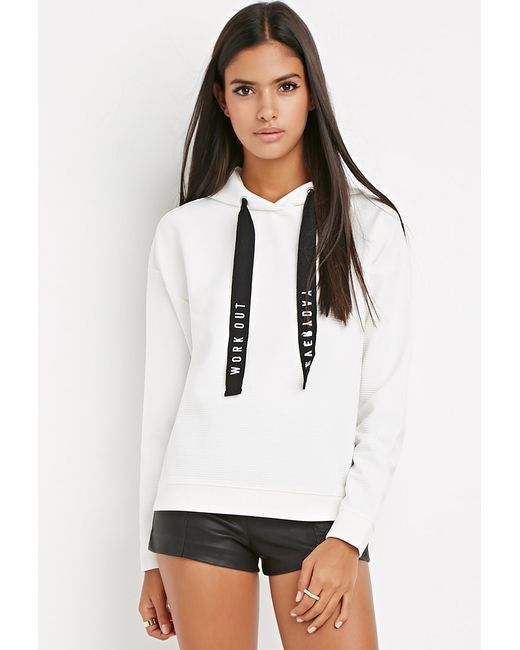 Forever 21 | Black Contemporary Workout Everyday Hoodie | Lyst