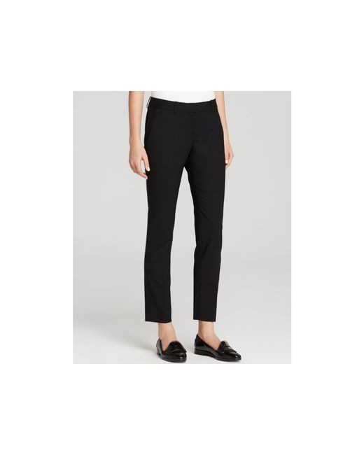Theory | Black Pants - Testra Edition | Lyst