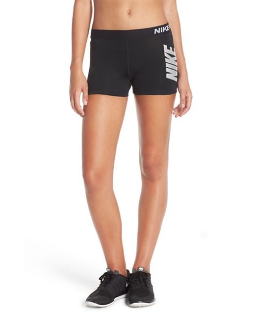 Nike 'pro Cool' Dri-fit Shorts in Black