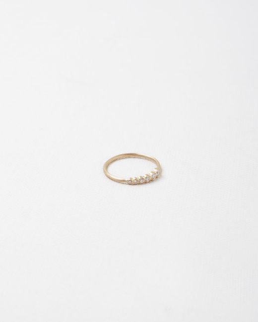 Sophie Bille Brahe | Metallic Pleine De Lune Grand Diamant Ring | Lyst