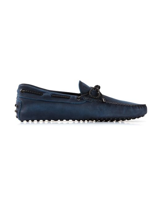 Tod's | Blue Classic Driving Shoes for Men | Lyst