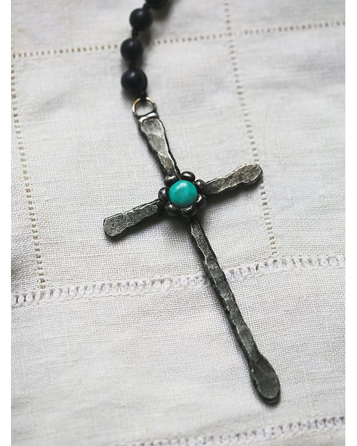 Free People | Black Wild Spirit Necklace | Lyst