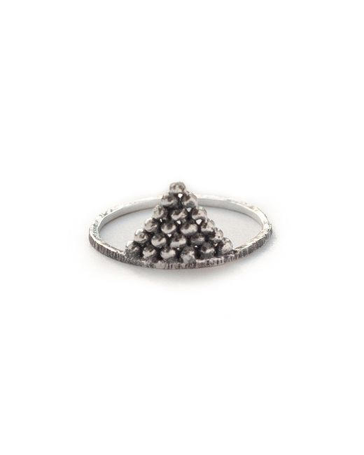 Pamela Love | Metallic Pyramid Ring | Lyst