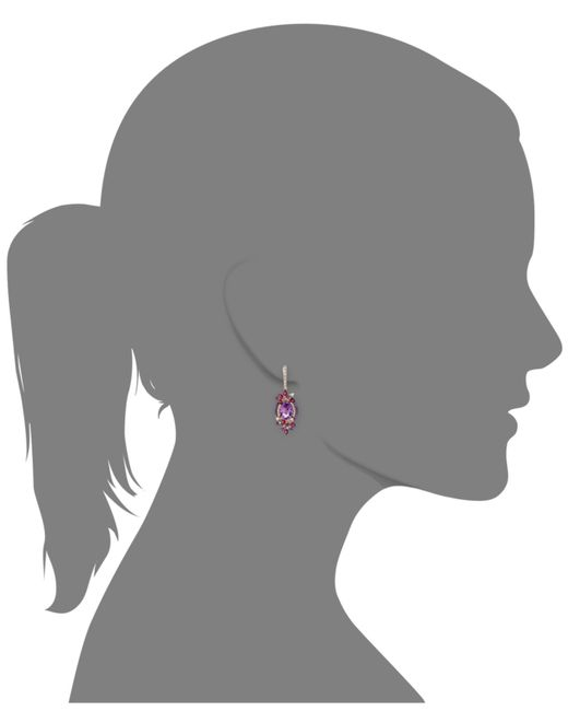 Le Vian | Red ® Crazies Collection® Multistone Drop Earrings In 14k Strawberry Rose Gold (13-1/2 Ct. T.w.) | Lyst
