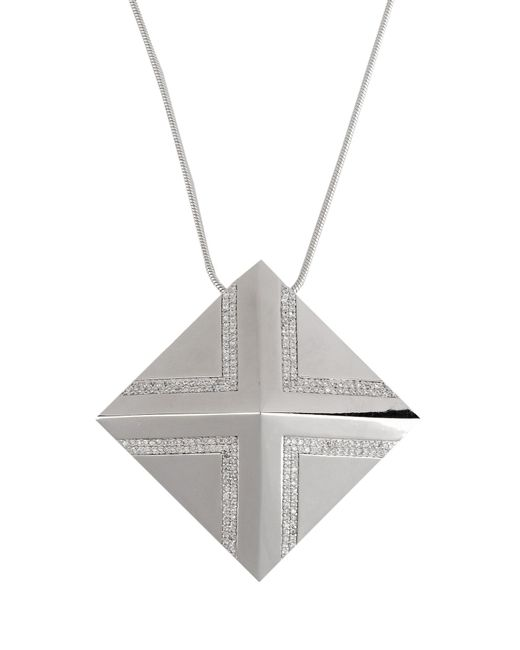 Noir Jewelry | Metallic Necklace | Lyst