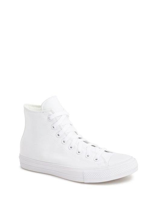 Converse | White Chuck Taylor All Star Signature High Top Sneaker for Men | Lyst