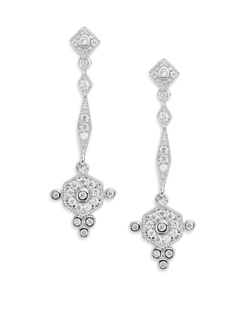 Freida Rothman | Metallic Luxure Love Knot Drop Earrings | Lyst