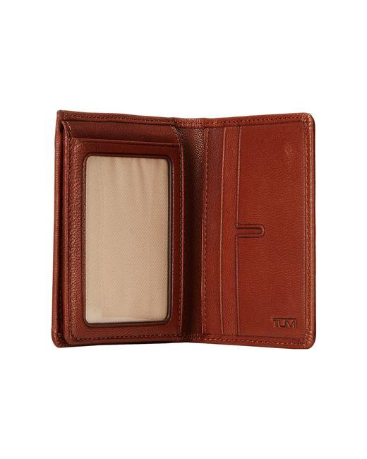 Tumi | Red Chambers L-Fold Id for Men | Lyst