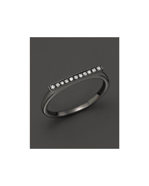 Dana Rebecca | Diamond Sylvie Rose Ring In 14k Black Rhodium | Lyst