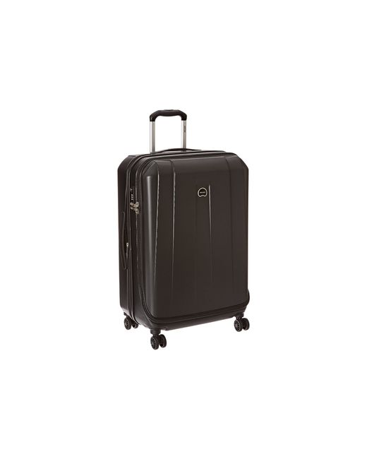 "Delsey | Black Helium Shadow 3.0-25"" Expandable Spinner Suiter Trolley 