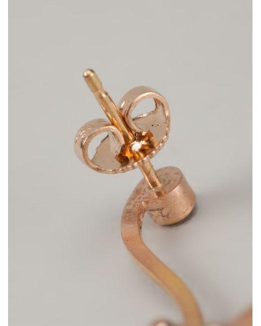 Marc Alary | Pink Ruby Monkey Earrings | Lyst