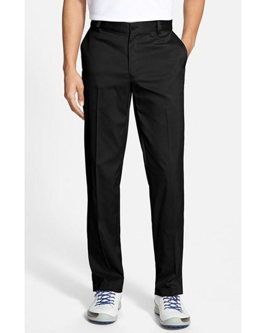 Nike | White Flat Front Dri-fit Tech Golf Pants for Men | Lyst