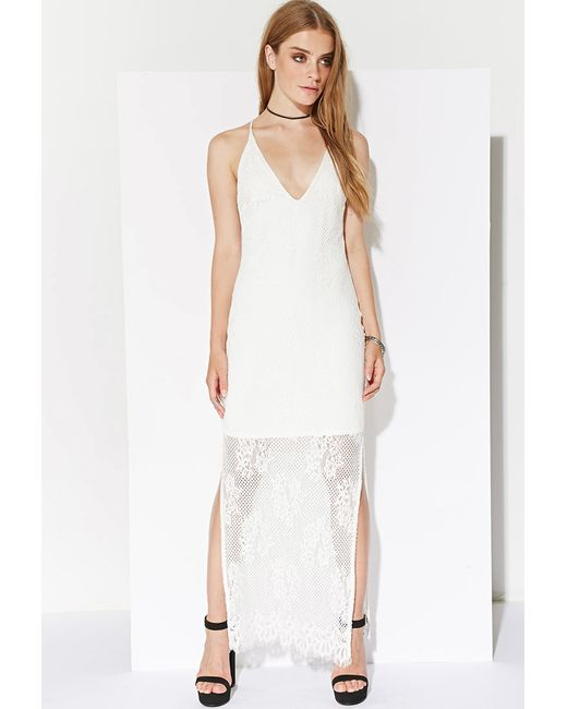Forever 21 | White Ministry Of Style Eternal Maxi Dress | Lyst