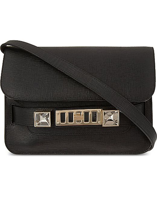 Proenza Schouler | Black Ps11 Mini Classic Linosa Cross-body Bag | Lyst