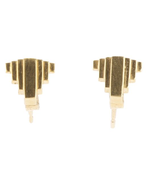 Clarice Price Thomas | Metallic 'Umbra' Stud Earrings | Lyst