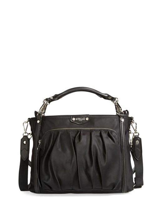 MZ Wallace | Red 'small Nikki' Bedford Nylon Tote | Lyst
