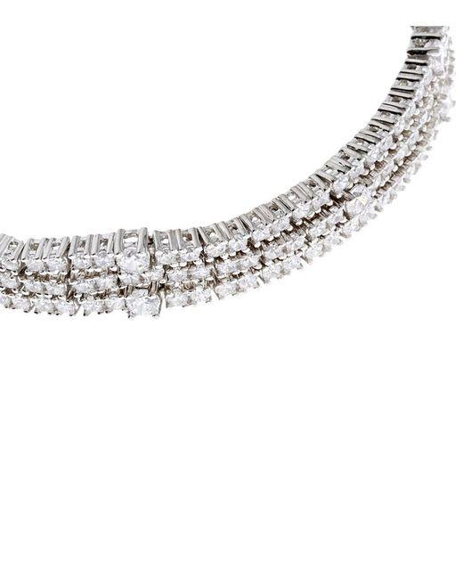 Carat* | Metallic Alexis Millennium White Gold Bracelet | Lyst