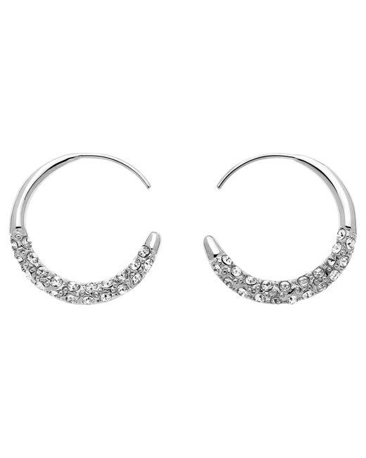 Melissa Odabash | Metallic Swarovski Crystal Orbit Hoop Earrings | Lyst