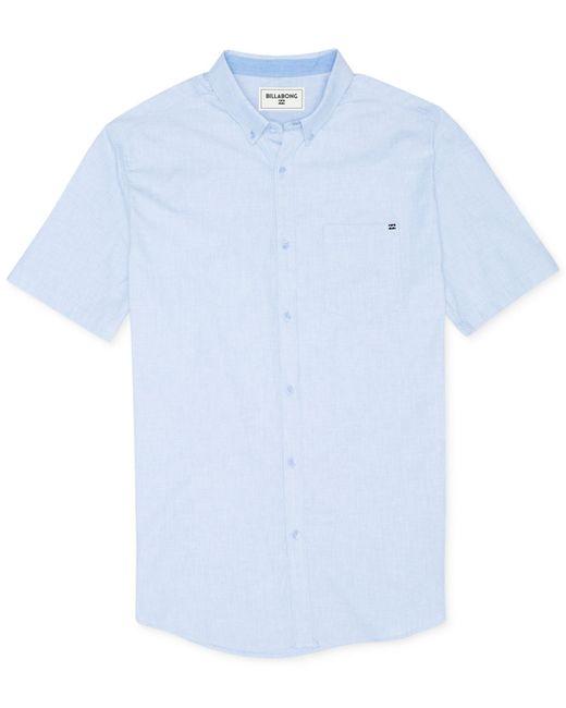Billabong | Blue Men's All Day Short-sleeve Shirt for Men | Lyst