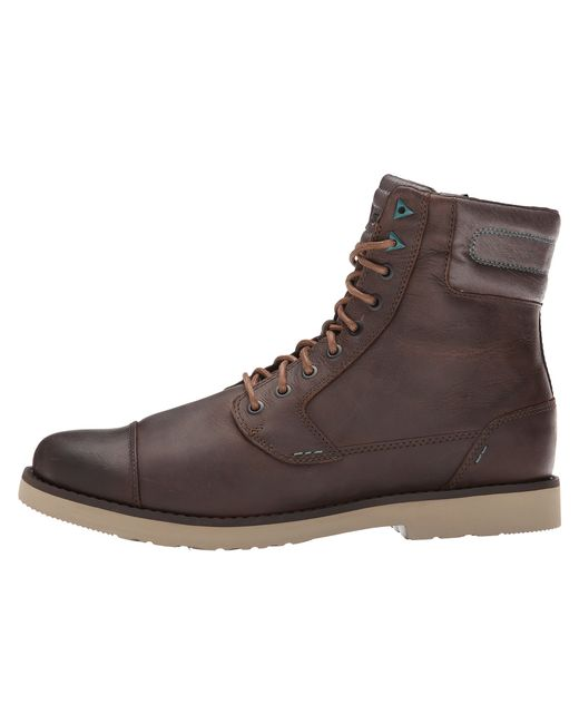 Teva | Brown Durban Tall Leather for Men | Lyst