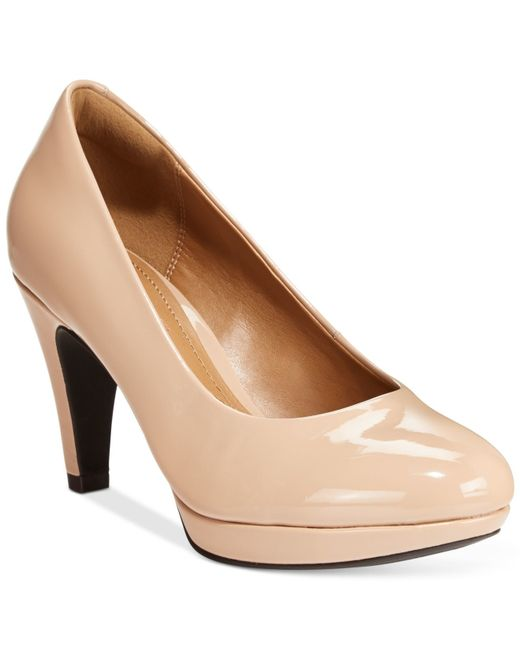 Clarks   Natural Collection Women's Brier Dolly Pumps   Lyst