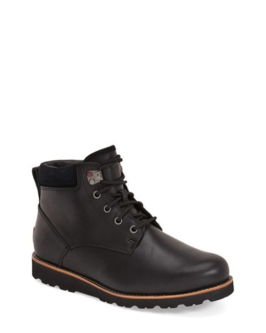 UGG | Black Ugg Seton Waterproof Chukka Boot for Men | Lyst